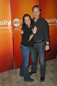 Holly Marie Combs and Chad Lowe at the Disney ABC Television Group Summer Press Junket, ABC Studios, Burbank, CA. 05-15-10 — Stock Photo