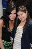 "Demi Lovato and Madison De La Garzaat the ""Oceans"" Los Angeles Premiere, El Capitan Theatre, Hollywood, CA. 04-17-10 — Stock Photo"