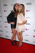Haley Bartlett and Chanel Celaya — Stock Photo