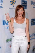 Jessica Sutta at the DayFly.com Launch Party, Hollywood Roosevelt Hotel, Hollywood, CA. 05-06-10 — Stock Photo