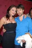 Laura Harring and guest — Stock Photo