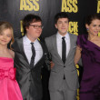 Chloe Moretz, Clark Duke, Christopher Mintz-Plasse and Lyndsy Fonseca - Stock Photo