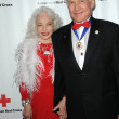 Stock Photo: Lois Aldrin and Buzz Aldrin