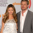 Stock Photo: RebeccGayheart and Eric Dane at 21st Annual GLAAD MediAwards, Hyatt Regency Century Plaza, Century City, CA. 04-17-10