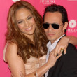 Jennifer Lopez and Marc Anthony - Stockfoto