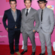 Kevin Jonas, Nick Jonas and Joe Jonas  at the 12th Annual Young Hollywood Awards, Wilshire Ebell Theater, Los Angeles, CA. 05-13-10 - Stockfoto
