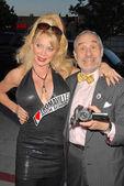 Shelley Michelle and Lloyd Kaufman — Stock Photo