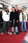 Alan Doyle, Russell Crowe, Kevin Durand and Scott Grimes — Stock Photo