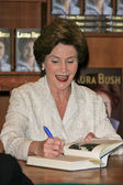 "Laura Bush at a book signing for 'Spoken From The Heart,"" Vromans, Pasadena, CA. 05-11-10 — Стоковое фото"