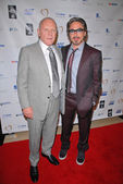 Anthony Hopkins, Robert Downey Jr. — Stock Photo