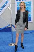 "Amber Vallettaat the ""Oceans"" Los Angeles Premiere, El Capitan Theatre, Hollywood, CA. 04-17-10 — Stock Photo"