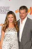 Rebecca Gayheart and Eric Dane at the 21st Annual GLAAD Media Awards, Hyatt Regency Century Plaza, Century City, CA. 04-17-10 — Stock Photo