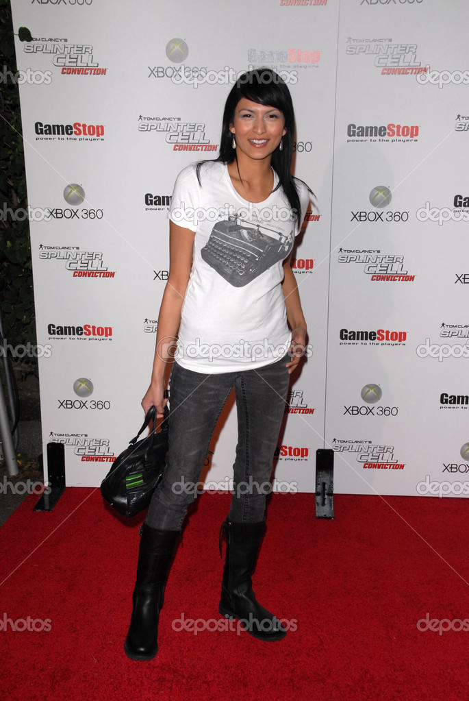 Tinsel Koreyat the Game Stop and XBOX 360 Premiere of &quot;Splinter Cell Conviction,&quot; Les Deux, Hollywood, CA. 04-01-10  Stock Photo #14998803