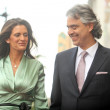 Veronica Berti and Andrea Bocelli - Foto Stock