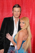 Yuri Bradac and Taylor Wane — Stock Photo