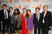 "Cast of ""Glee"" at the 21st Annual GLAAD Media Awards, Hyatt Regency Century Plaza, Century City, CA. 04-17-10 — Foto Stock"