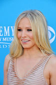 Kristen Bell at the 45th Academy of Country Music Awards Arrivals, MGM Grand Garden Arena, Las Vegas, NV. 04-18-10 — Stock Photo