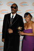 Snoop dogg con esposa shante broadus — Foto de Stock