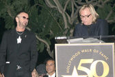 Ringo Starr and Joe Walsh — Stockfoto