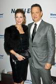 Rita Wilson and Tom Hanks — Stock Photo