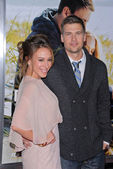 "Haylie Duff and Nick Zano at the ""Dear John"" World Premiere, Chinese Theater, Hollywood, CA. 02-01-10 — Стоковое фото"