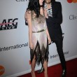 Katy Perry and Russell Brand - Foto de Stock
