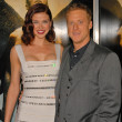 Adrianne Palicki and Alan Tudyk  at the Legion World Premiere, Cinerama Dome, Hollywood, CA. 01-21-10 - Foto de Stock