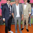 Kevin Jonas, Joe Jonas, Nick Jonas  at the Nickelodeon's 23rd Annual Kids' Choice Awards, UCLA's Pauley Pavilion, Westwood, CA 03-27-10 - Foto de Stock