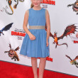 Постер, плакат: Kiernan Shipka at the Los Angeles Premiere of How To Train Your Dragon Gibson Amphitheater Universal City CA 03 21 10