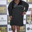 Gabby Sidibe  at the 25th Film Independent Spirit Awards, Nokia Theatre L.A. Live, Los Angeles, CA. 03-06-10 - Foto Stock