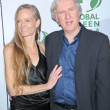 Suzy Amis and James Cameron - Foto Stock