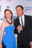 Vanessa Claire Smith and French Stewart — Stock Photo