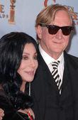Cher and T Bone Burnett — Stock Photo