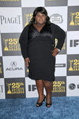 Gabby Sidibe at the 25th Film Independent Spirit Awards, Nokia Theatre L.A. Live, Los Angeles, CA. 03-06-10 — Stock Photo