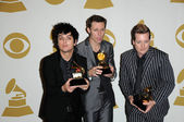 Billie Joe Armstrong, Mike Dirnt, Tre Cool — Stock Photo