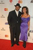 Jimmy Jam and wife Lisa Harris — Stock Photo