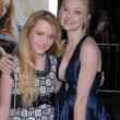 Постер, плакат: Kathryn Newton and Amanda Seyfried at the Dear John World Premiere Chinese Theater Hollywood CA 02 01 10