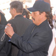 Stock Photo: Danny Trejo at Hollywood Walk of Fame induction ceremony for Dennis Hopper, Hollywood Blvd., Hollywood, CA. 03-26-10