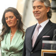 Veronica Berti and Andrea Bocelli — Stock Photo