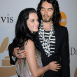 Постер, плакат: Katy Perry and Russell Brand at The Recording Academy and Clive Davis Present The 2010 Pre Grammy Gala Salute To Icons Beverly Hilton Hotel Beverly Hills CA 01 30 10