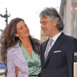 Veronica Berti and Andrea Bocelli — Photo