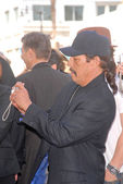 Danny Trejo at the Hollywood Walk of Fame induction ceremony for Dennis Hopper, Hollywood Blvd., Hollywood, CA. 03-26-10 — Stock Photo