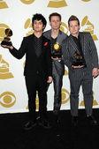 Billie Joe Armstrong, Mike Dirnt, Tre Cool — Stock Photo