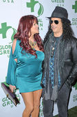 Slash and Perla Ferrar — Stock Photo