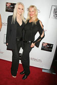 Donna Spangler and Daisy Lange — 图库照片