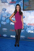 "Terri Seymour at Fox's ""American Idol"" Top 12 Finalists Party, Industry, West Hollywood, CA. 03-11-10 — Stock Photo"