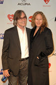Jackson Browne and Dianna Cohen — Stock Photo
