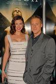Adrianne Palicki and Alan Tudyk at the Legion World Premiere, Cinerama Dome, Hollywood, CA. 01-21-10 — Stock Photo