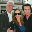 Ted Danson with Diane Lane and Josh Brolin — Stock Photo