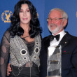 Постер, плакат: Cher and Norman Jewison at the 62nd Annual DGA Awards Press Room Hyatt Regency Century Plaza Hotel Century City CA 01 30 10